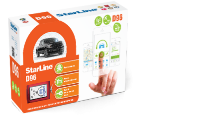StarLine D96 2CAN+2LIN GSM GPS