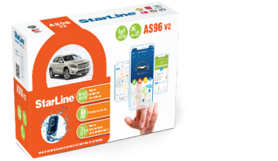 StarLine AS96v2 2CAN+4LIN LTE GPS