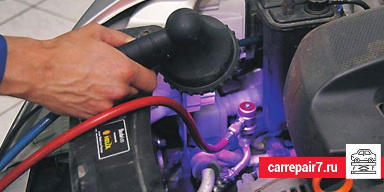 Процесс поиска и устранения неисправностей системы кондиционирования воздуха в автомобиле