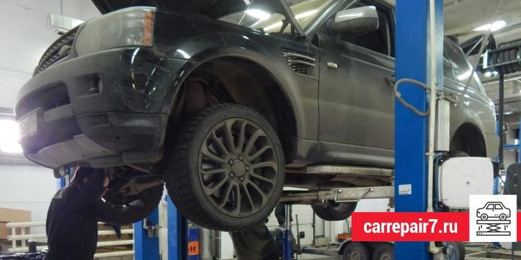 Ремонт АКПП Land Rover