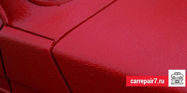 Почему появляются шагрени после покраски авто