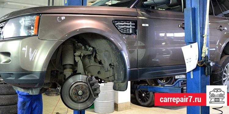 Ремонт подвески Land Rover