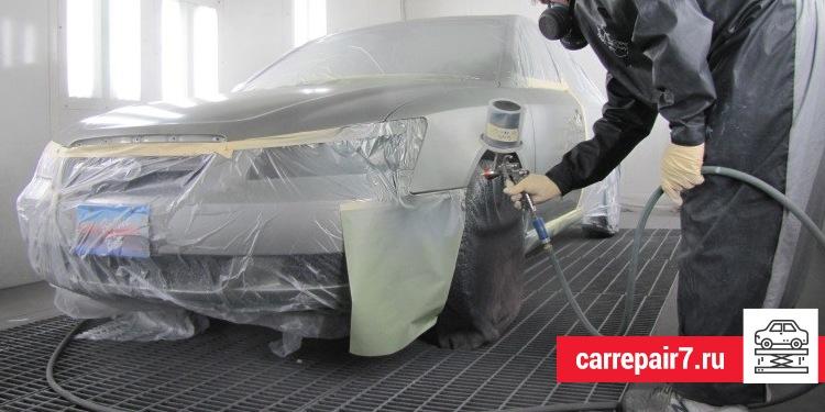 Подготовьте свое авто к покраске!