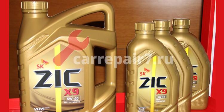 Моторное масло Zic.