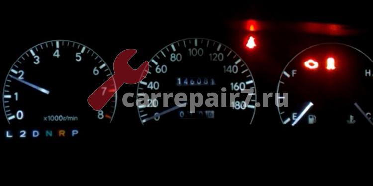 Провалы при нажатии на педаль газа на холостом ходу