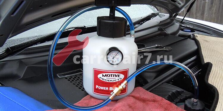 Цена замены тормозной жидкости в Москве