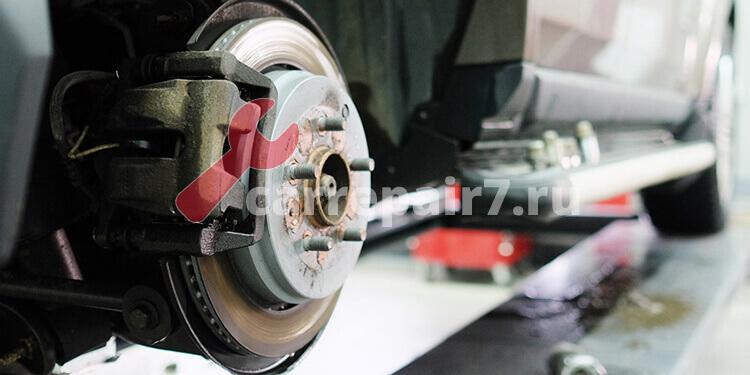 Замена тормозных дисков – цена в Москве