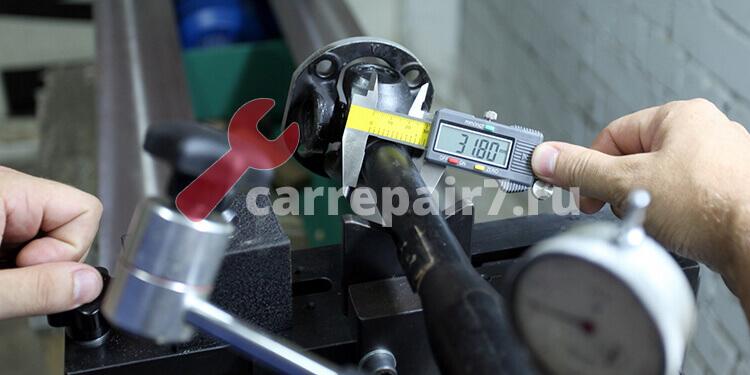 Ремонт и балансировка карданных валов в Москве