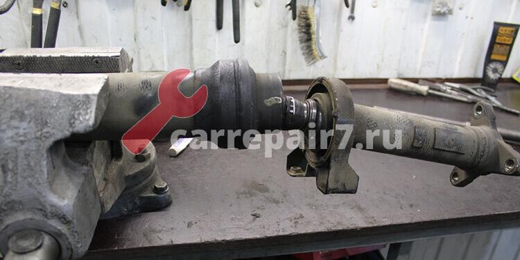 Ремонт и замена подвесного подшипника карданного вала