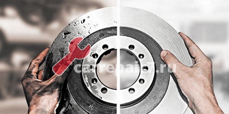 Ремонт тормозных дисков автомобиля в Москве — Цена