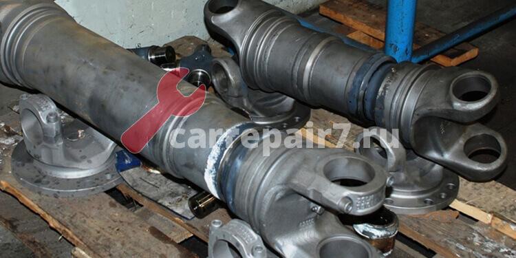 Стоимость ремонта карданного вала в Москве