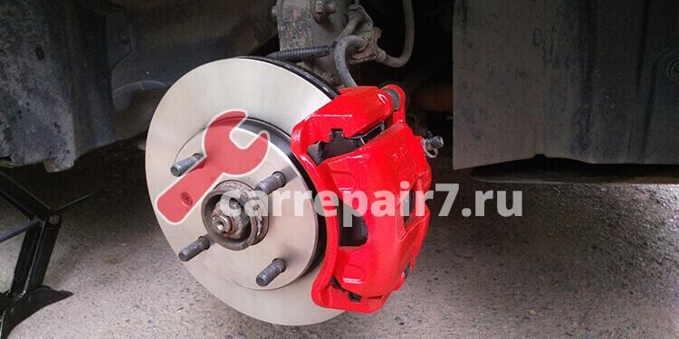 Стоимость ремонта тормозных дисков